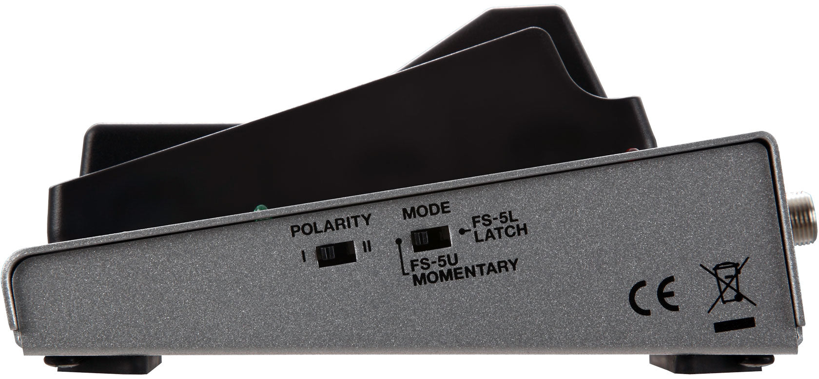 Boss FS-7 Space-Saving, Multifunctional Dual Footswitch Latch or Momentary Mode