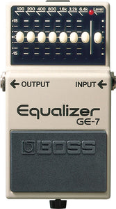 Boss GE7 Equalizer Guitar Effect Pedal