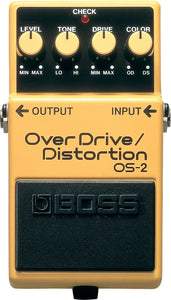 Boss OS-2 Overdrive Distortion Guitar Effects Pedal