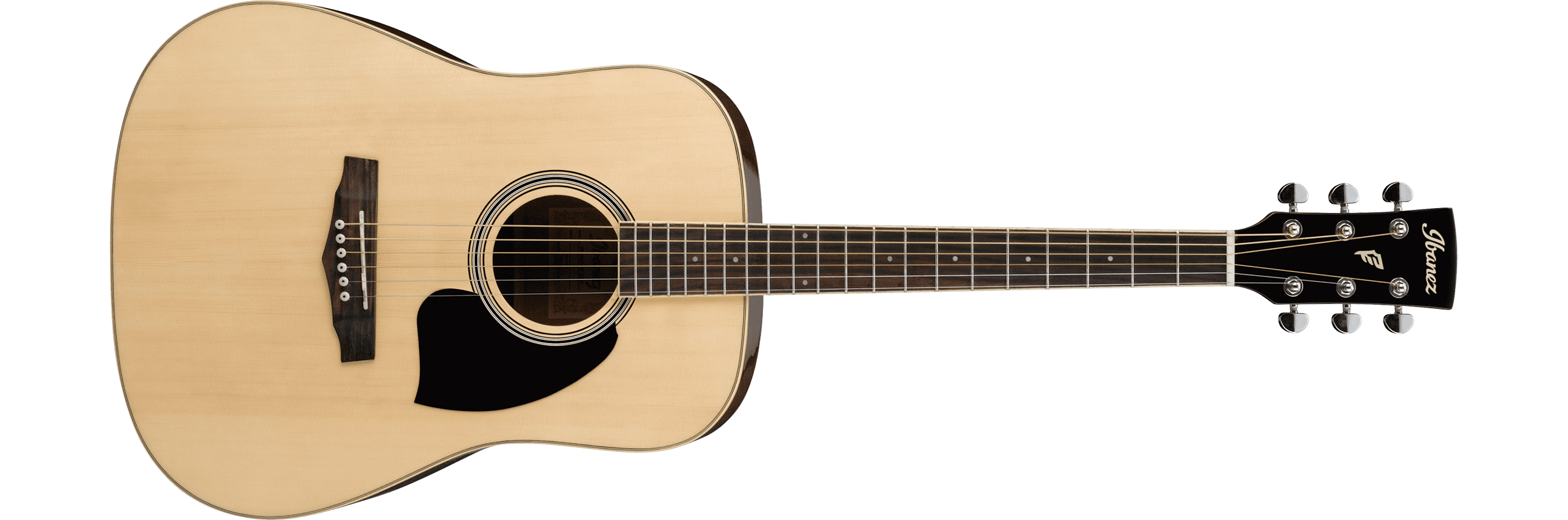 Ibanez PF15-NT Right-Handed Acoustic Guitar Natural Finish