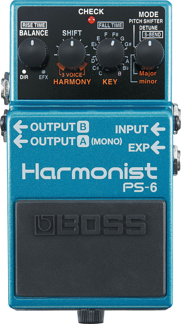 Boss PS-6 Harmonist Signal Processor Guitar Pedal