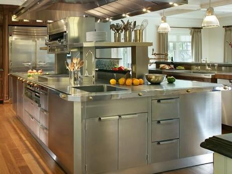 Kitchen Remodeling with Stainless Steel