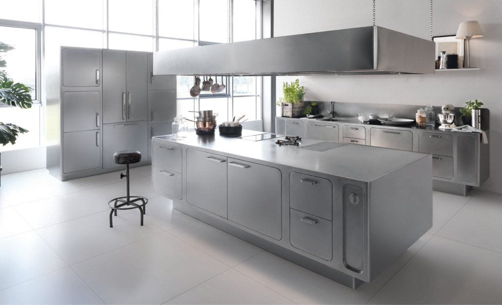 Stainless Steel is a Fresh Look for Interior Design and Decor