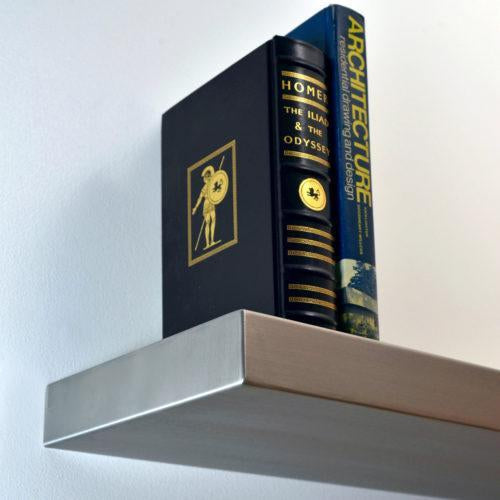 5 Benefits of Stainless Steel Floating Shelves
