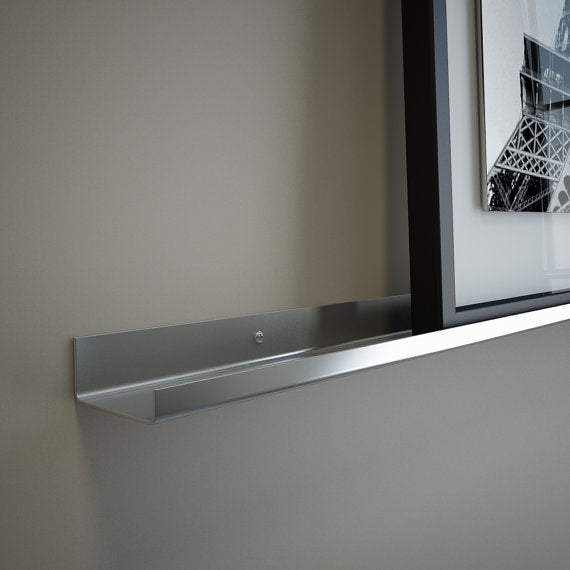 Stainless Steel Floating Ledge for Pictures