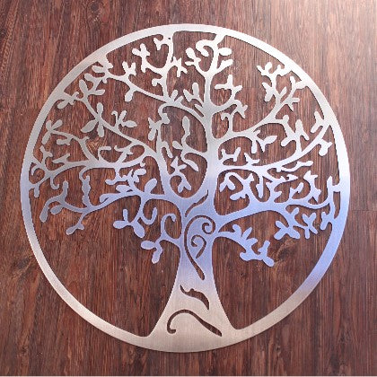 Metal Wall Art - Home Decor including stainless steel Tree of Life, infinity love signs, metal monogram signs, metal wall panels and stainless steel military emblems