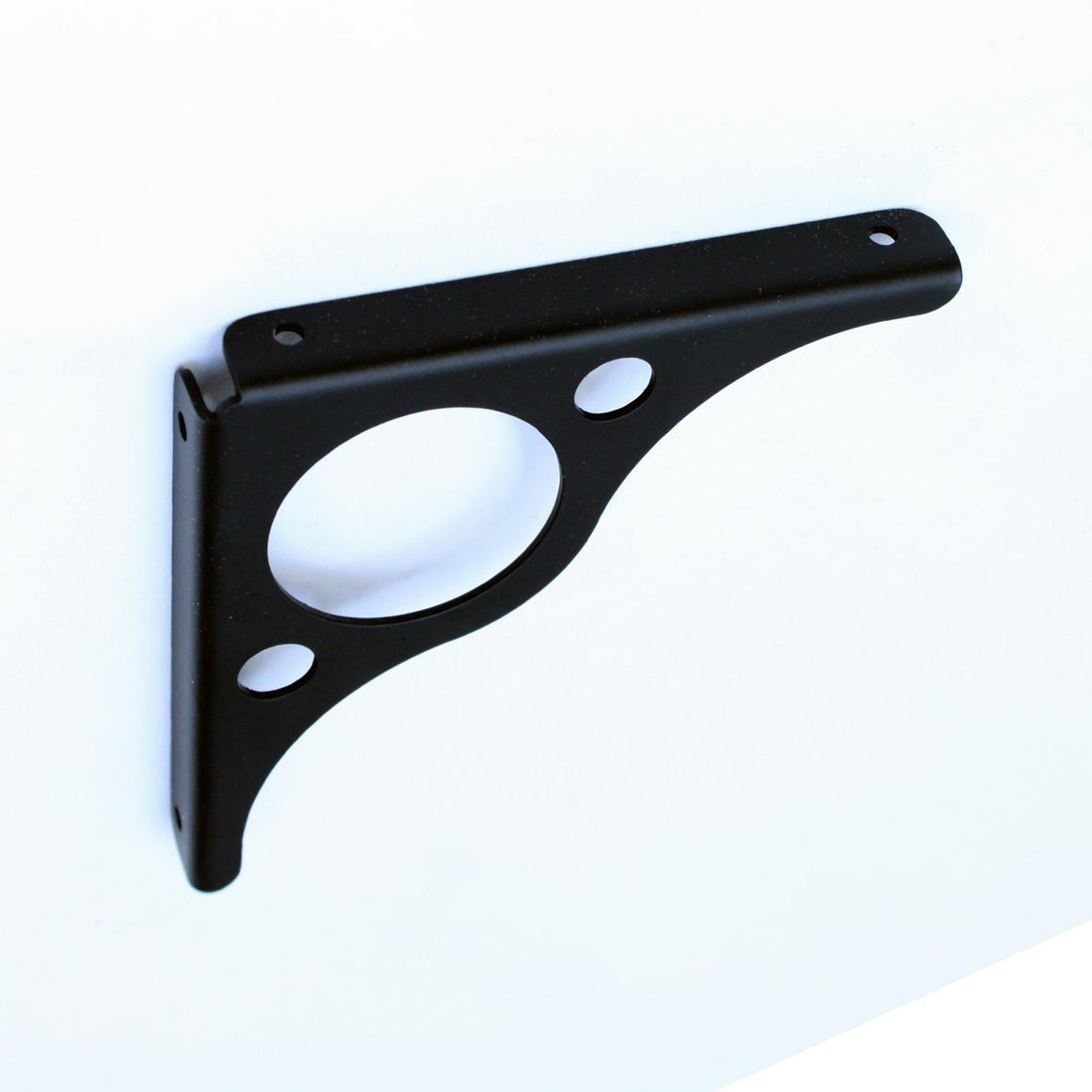 APEX Black Steel Shelf Brackets