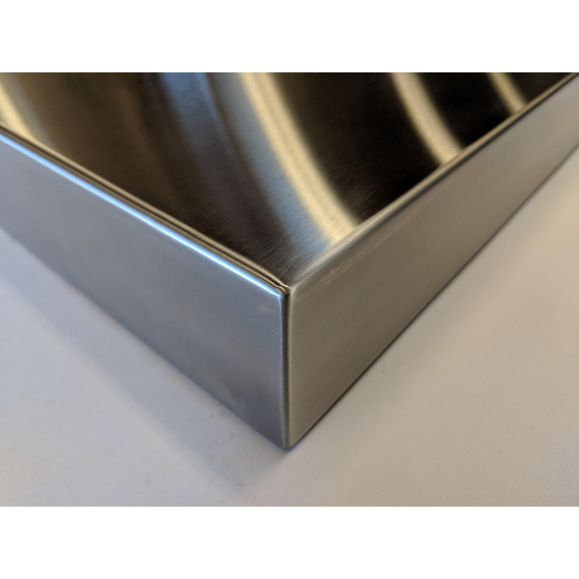 Stainless Steel Floating shelf used for Bar Glasses