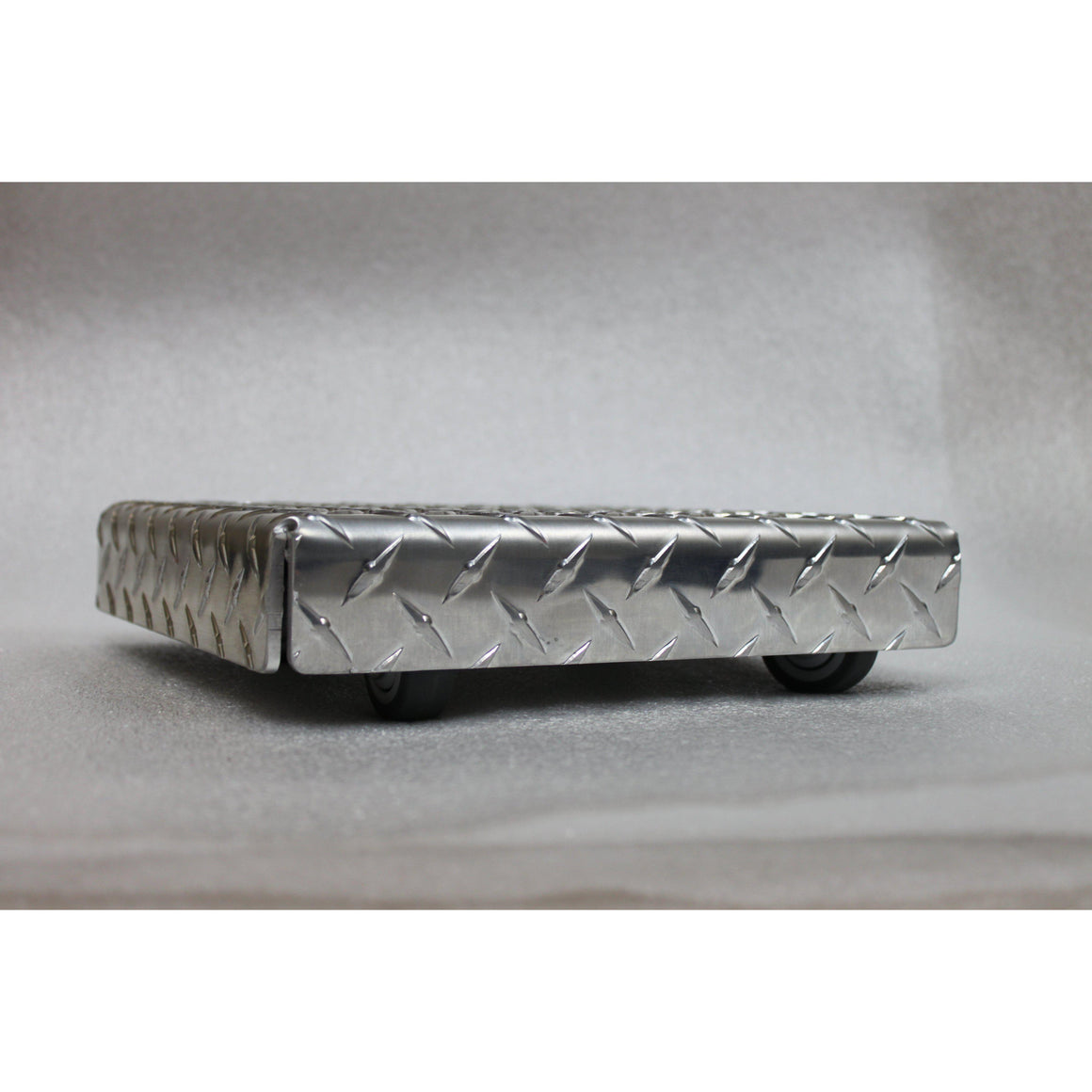 Diamond Plate Metal Square Plant Caddy-Cascade Manufacturing