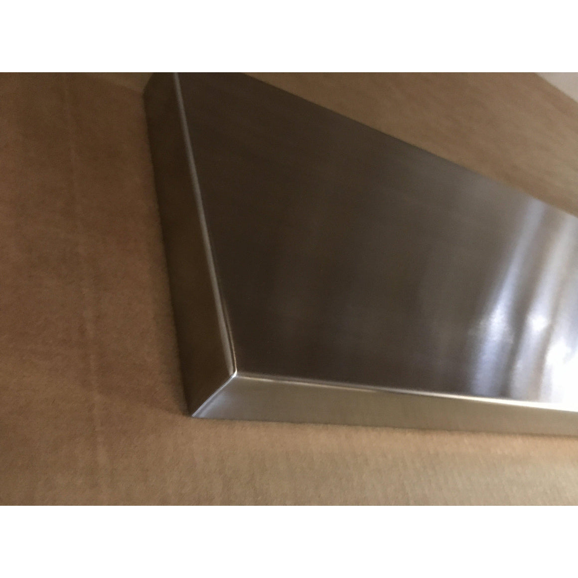 Stainless Steel Floating Shelves for Kitchen