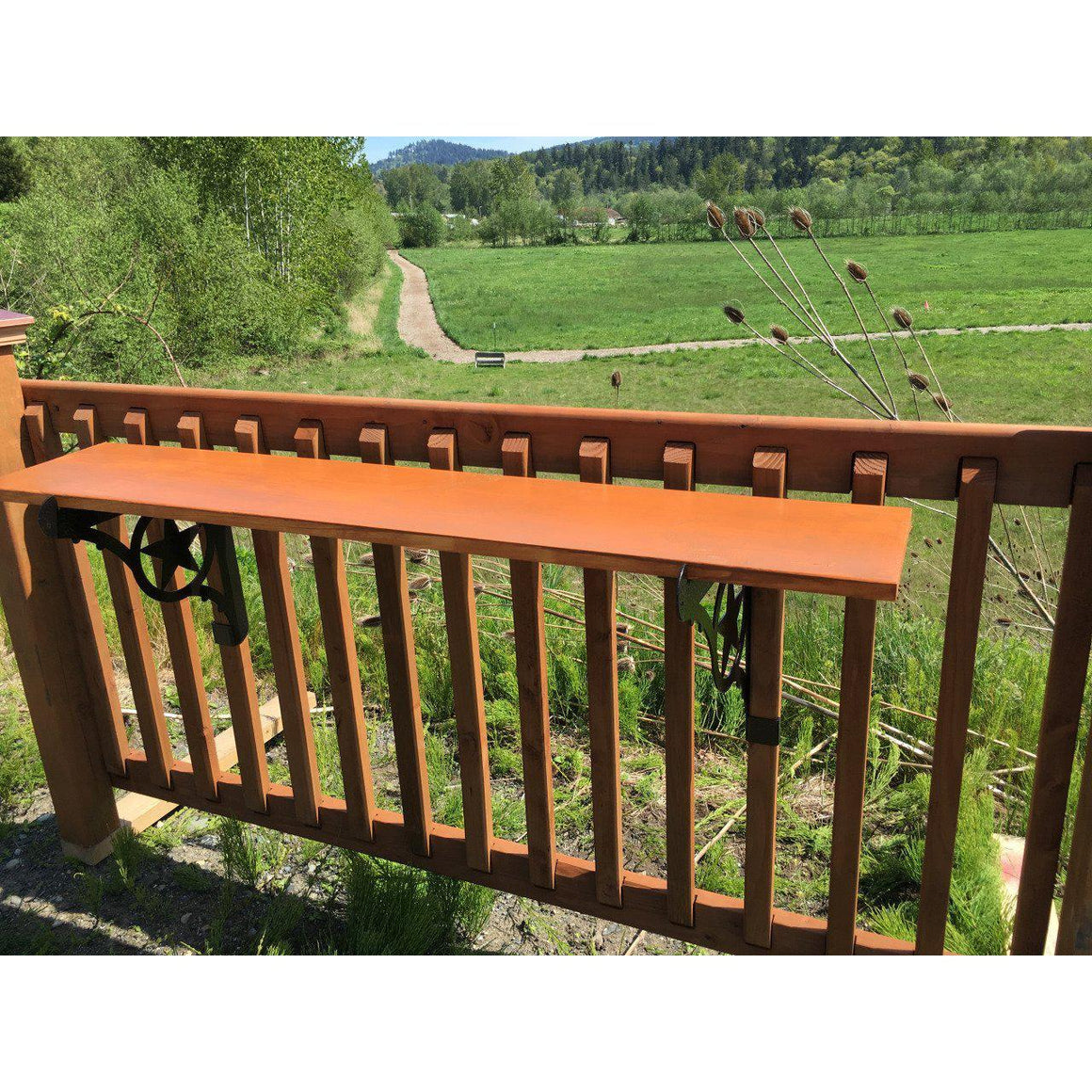 Kulshan DIY Deck Railing Bar Bracket