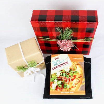 Cookbook with gift box
