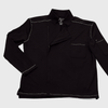 Alfredo chef's coat in black color
