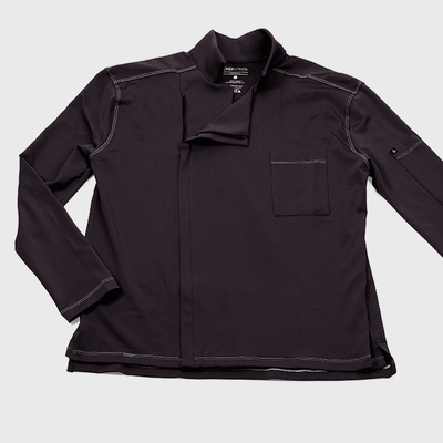 Alfredo chef's coat in carbon color