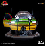 Jungle Explorer 04 Art Scale 1/10  – Jurassic Park [SRP $649.99 - Pre-order 10% SRP] - Iron Studios