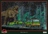 T-Rex Attack BDS Art Scale 1/10 (SET B)  – Jurassic Park - Iron Studios
