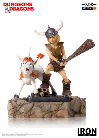 Bobby, the Barbarian and Uni BDS Art Scale 1/10 - Dungeons & Dragons [SRP $99.99 - Pre-order 10% SRP] - Iron Studios