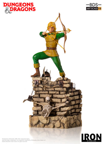 Hank, the Ranger  – BDS Art Scale 1/10 - Dungeons & Dragons [SRP $109.99 - Pre-order 10% SRP] - Iron Studios