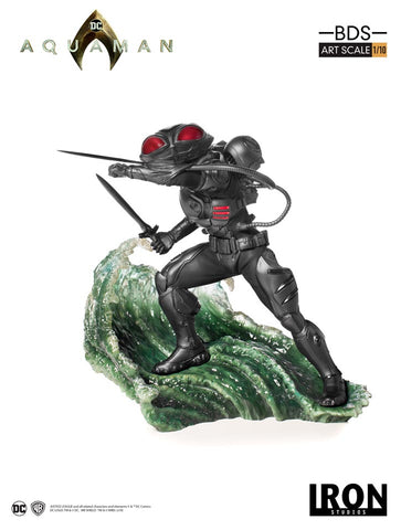 Black Manta BDS Art Scale 1/10 - Aquaman [SRP $99.99 - Pre-order 10% SRP] - Iron Studios