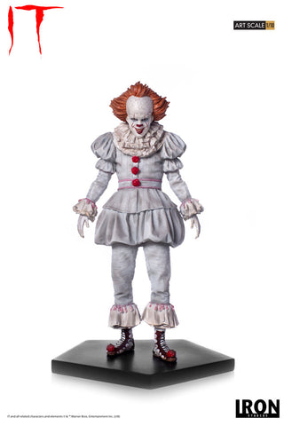 Pennywise Art Scale 1/10 - IT - Iron Studios