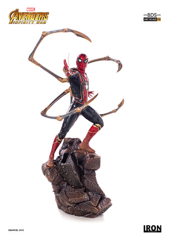 Iron Spider-Man BDS Art Scale 1/10 - Avengers: Infinity War [SRP $99.99 - Pre-order 10% SRP] - Iron Studios