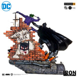 Batman vs Joker Battle Diorama 1/6 - DC Comics Series 4 by Ivan Reis [PRE-ORDER - MSRP $799.99 10%] - Iron Studios