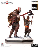 Kratos and Atreus Deluxe Art Scale 1/10 - God of War  [SRP $139.99 - Pre-order 10% SRP] - Iron Studios