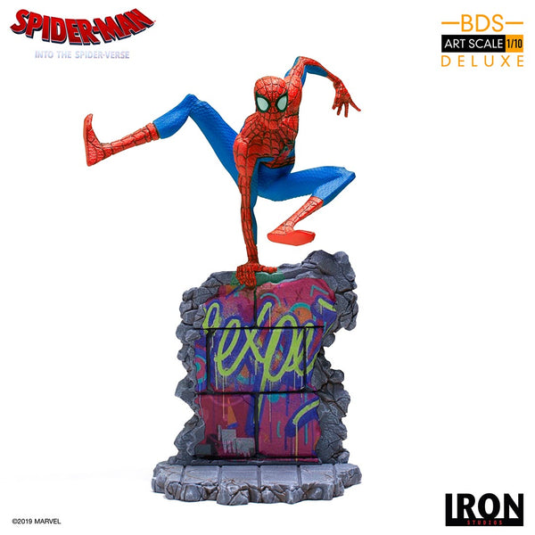 Peter B. Parker BDS Art Scale 1/10 - Spider-Man: Into the Spider-Verse  [SRP $119.99 - Pre-order 10% SRP] - Iron Studios