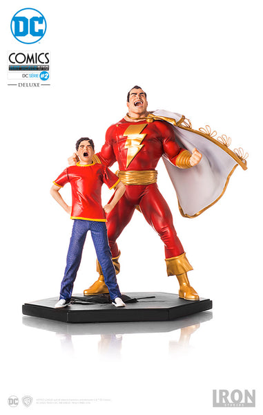 Shazam Art Scale 1/10 - By Ivan Reis - Iron Studios