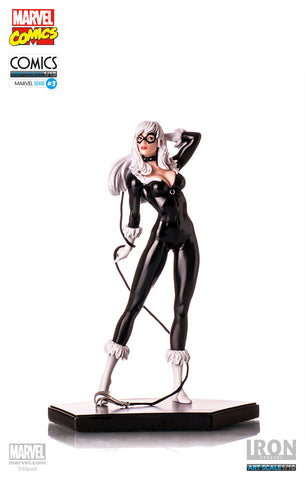 BLACK CAT ART SCALE 1/10 MARVEL COMICS SERIES 3 - Iron Studios