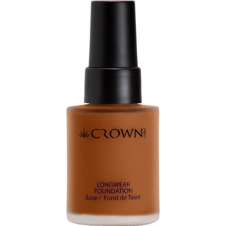 PFK42-6 Dark Longwear Foundation Crownbrush