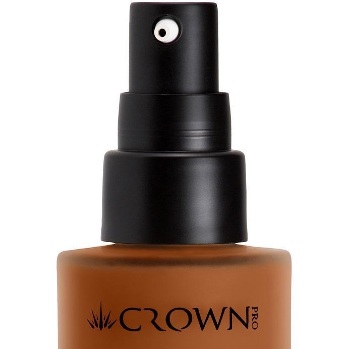 PFK42-6 Dark Longwear Foundation Nozzle Crownbrush