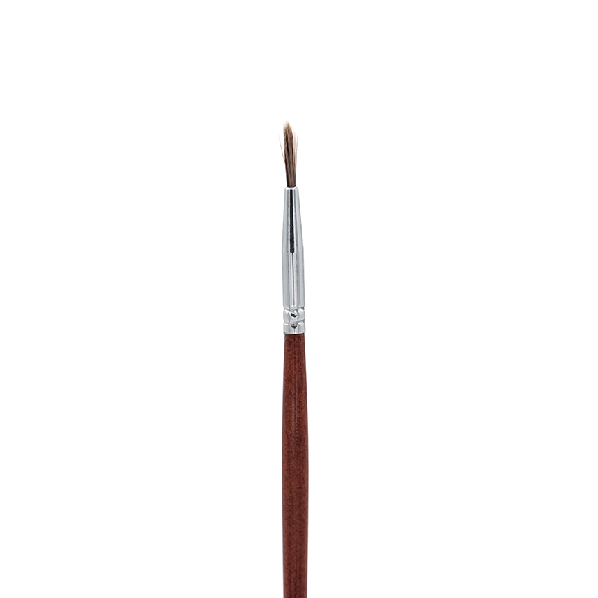 IB129 Taklon Pointed Liner Crownbrush