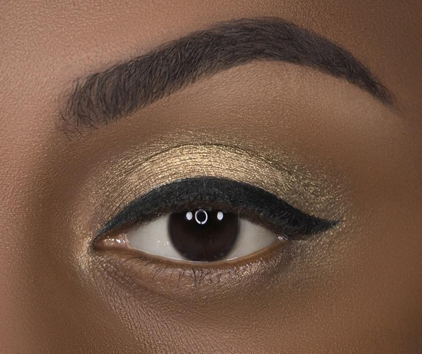 C 23 Vintage Gold Eyeshadow Crownbrush Eye Look