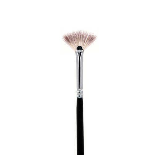 SS005 Deluxe Mini Lash Fan Brush Crownbrush
