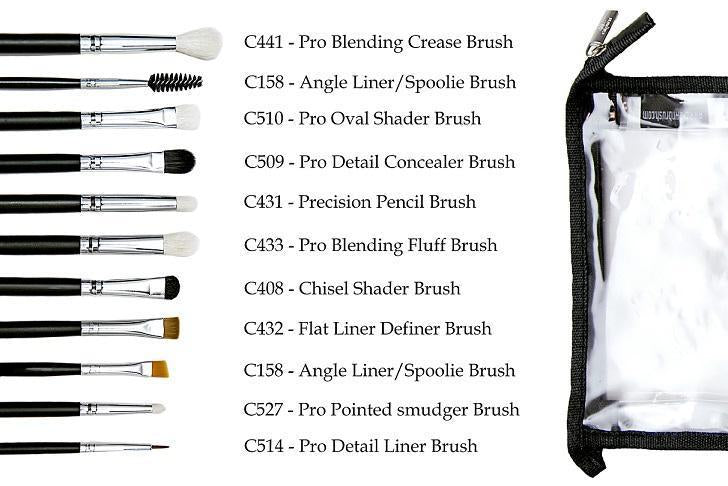 Eyestonishing Eye Makeup Brush Set Brushes Crownbrush