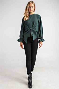 Front Twist Top - Green