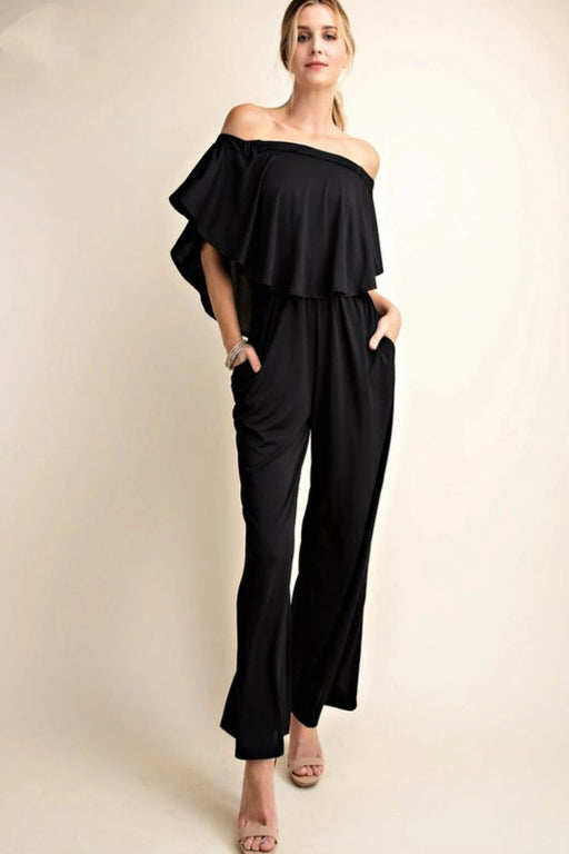 Every Day, Every Way Jumpsuit (Black)