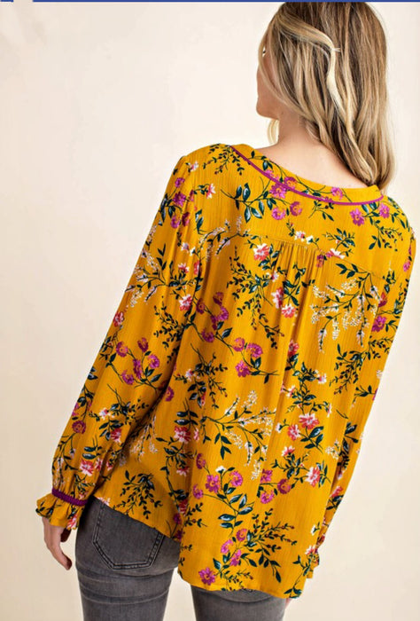Floral Fields Top