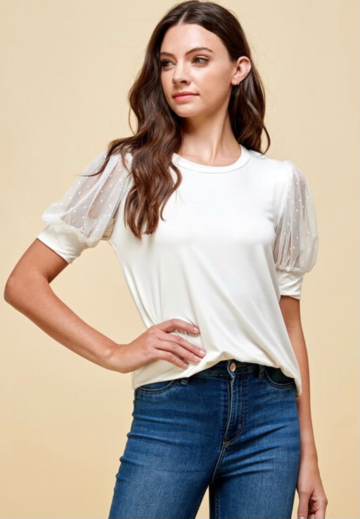 Sweet Love Cream Top