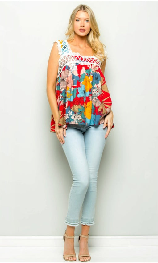 Flower Power Top