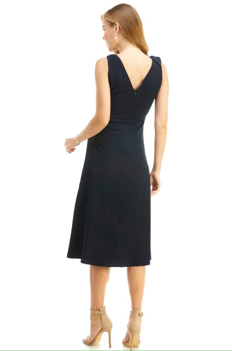 Navy Woven Dress