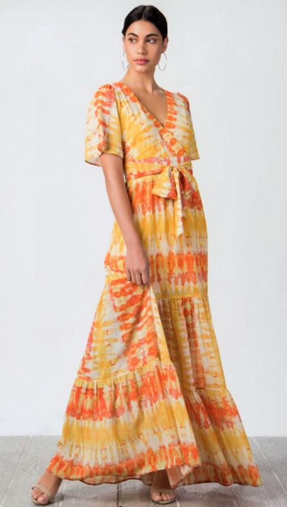 Sunset Boulevard Tie-Dye Dress