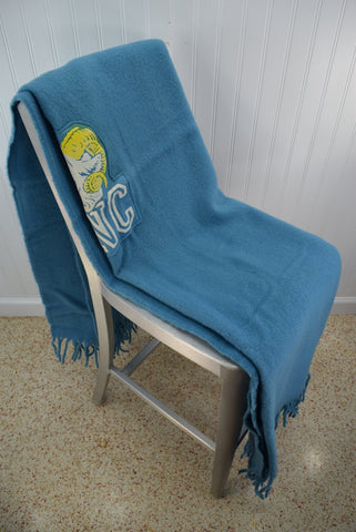 Cool Pendleton Vintage Unc Wool Throw Univ North Carolina Ram Gmtry Best Dining Table And Chair Ideas Images Gmtryco