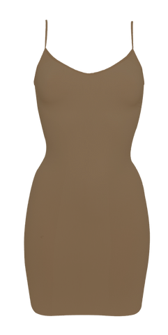 Shibue Non-slip Cami Dress Mocha