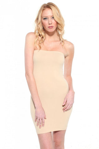Non-Slip Band'o Dress Nude