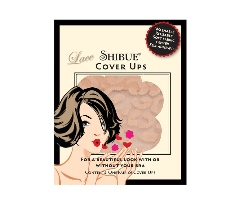 Lace Shibue Cover Ups Pasties