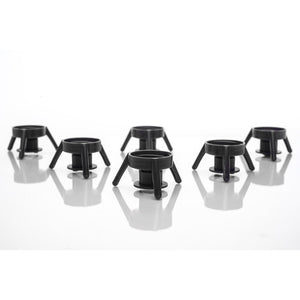 Black XL Dispensing Stands (6), Free Shipping!
