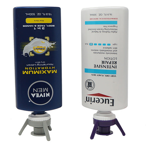 Adapter compatible with Nivea®, Eucerin® and Aquaphor® Bottles