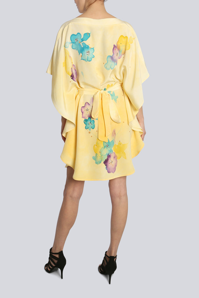 Cassie Yellow Oval Caftan